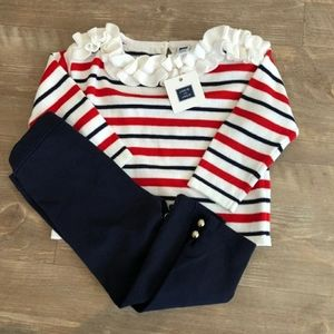 Janie and Jack Sweater and Pant Set